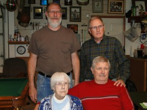 Mom, Dick, Rodney & Phil